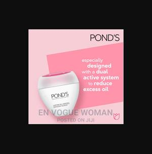 Pond's Lasting Oil Control Vanishing Cream Very Oily Skin | Makeup for sale in Lagos State, Ikeja