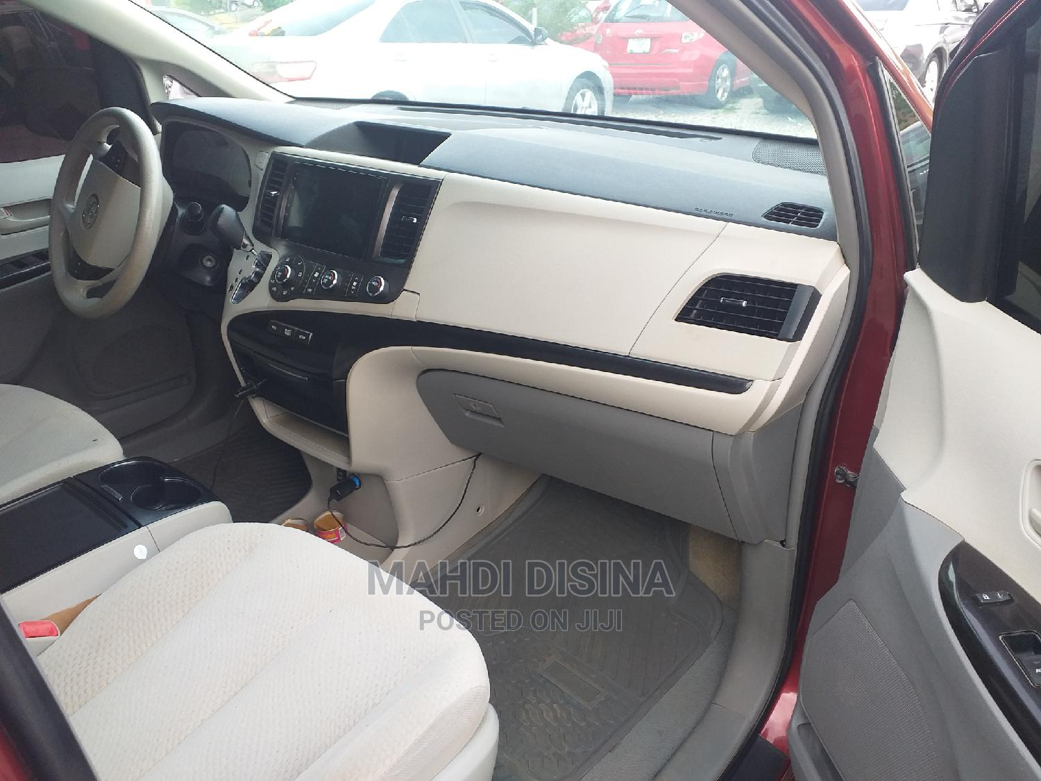 Archive: Toyota Sienna 2012 LE 7 Passenger Mobility Red