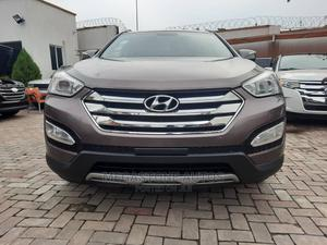 Hyundai Santa Fe 2014 Brown   Cars for sale in Lagos State, Magodo