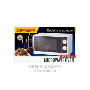 Qasa Microwave Oven With Defrost Function - QMWO-20L Eco   Kitchen Appliances for sale in Lagos State, Lagos Island (Eko)