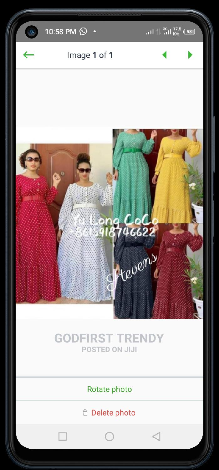 Archive: Trending Female Quality Long Gown