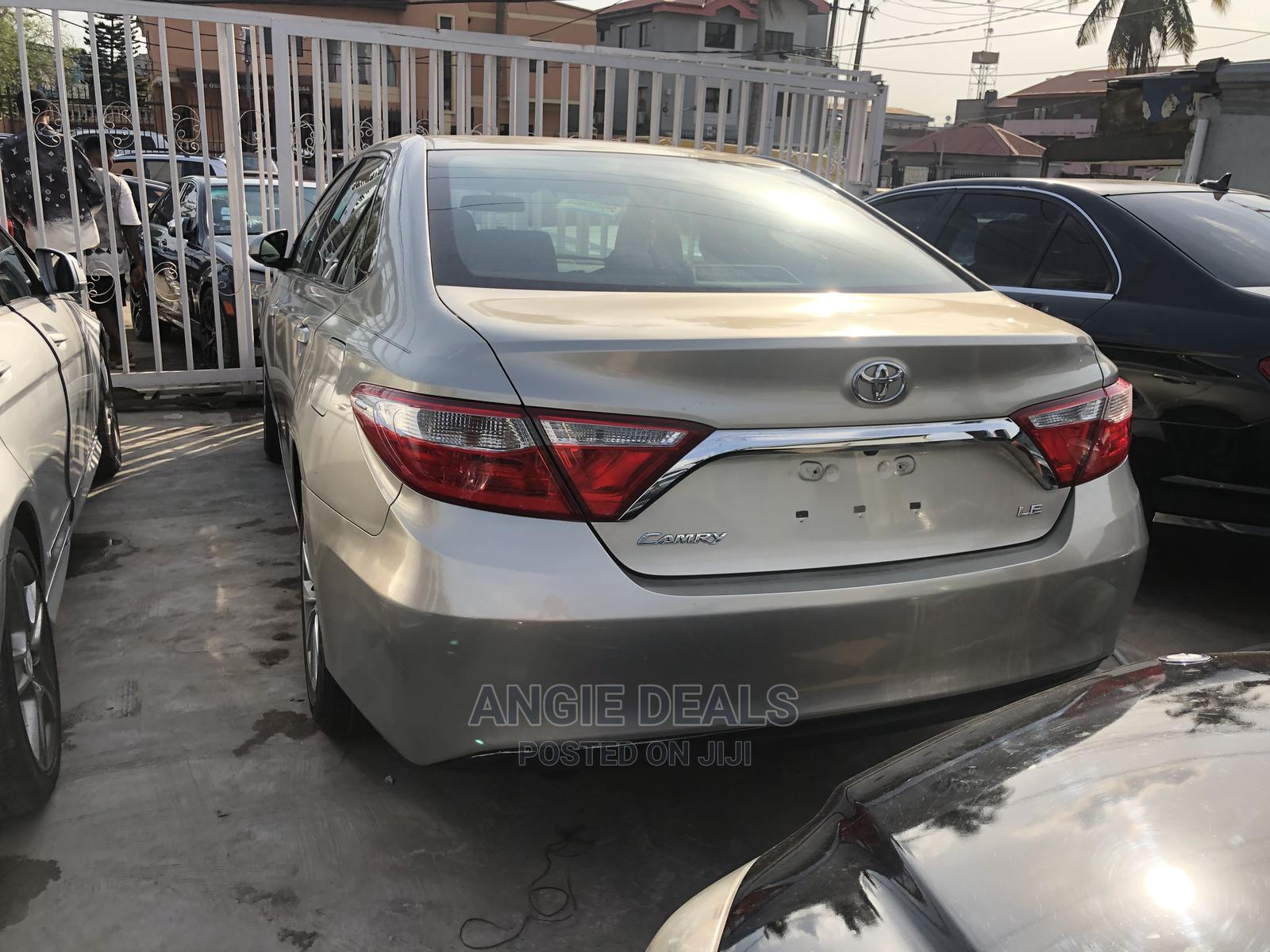 Toyota Camry 2015 Gold | Cars for sale in Ikeja, Lagos State, Nigeria