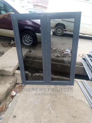 Aluminium Casement Window (Grey | Windows for sale in Lagos State, Agege