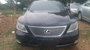 Lexus LS 2008 460 Black | Cars for sale in Abuja (FCT) State, Central Business District