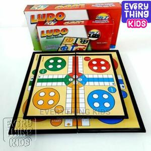 Ludo Magnetic Game Kids Game Traditional Ludo Adult Toy Birt | Toys for sale in Lagos State, Ojodu
