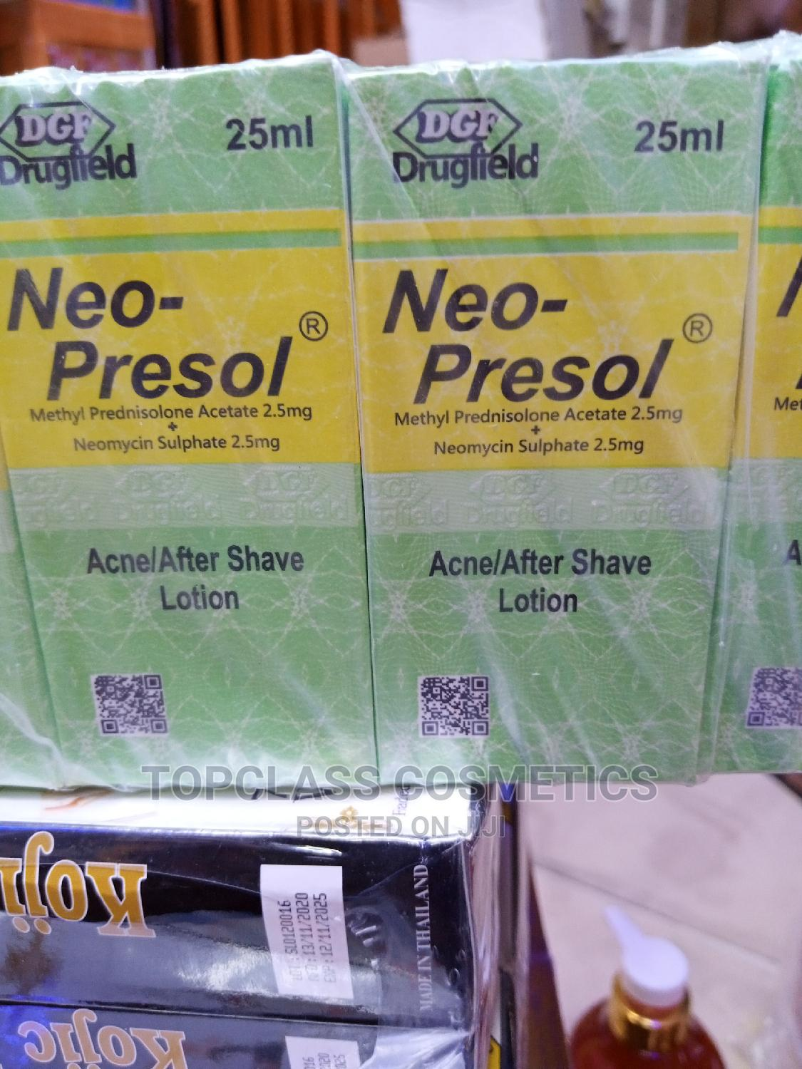 Archive: Neo Presol Acne/After Shave Lotion