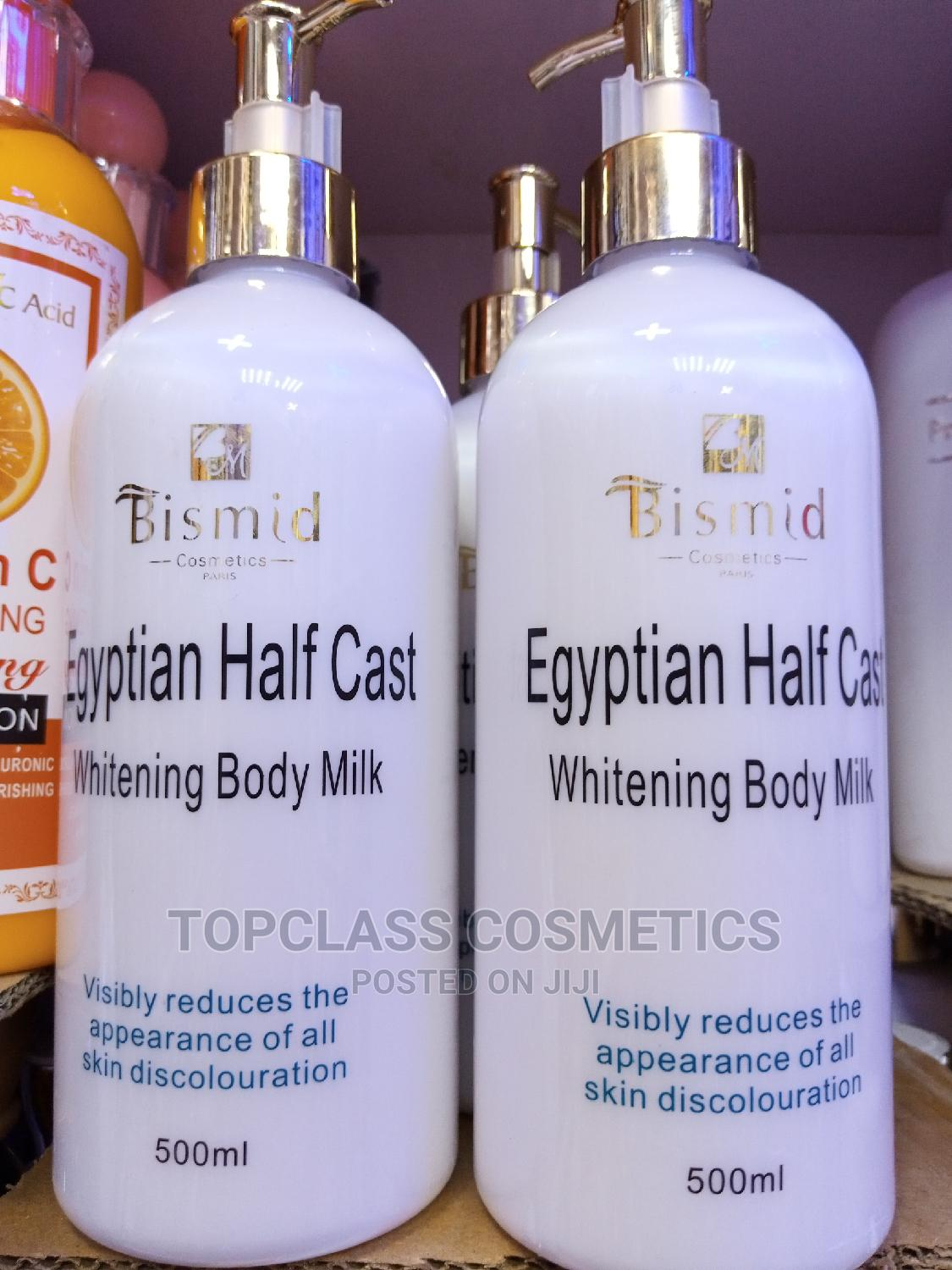 Archive: Bismid Egyptian Half Cast Whitening Lotion
