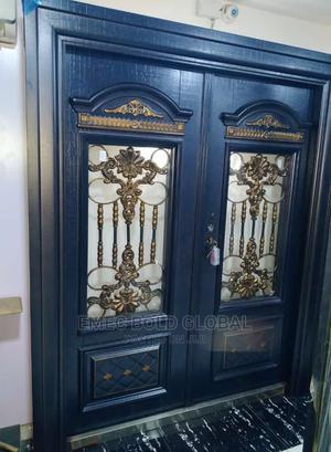 5ft German Copper Door With Glass | Doors for sale in Lagos State, Orile