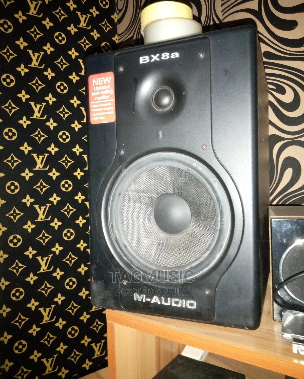 M Audio Bx8a Studio Speaker For Sale | Audio & Music Equipment for sale in Ado-Odo/Ota, Ogun State, Nigeria