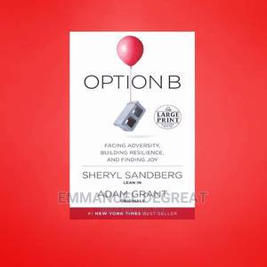 Adam Grant ; Option B   Books & Games for sale in Lagos State, Victoria Island