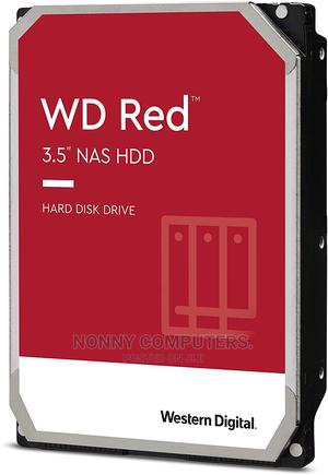 Western Digital 4TB WD Red NAS Internal Hard Drive HDD   Computer Hardware for sale in Lagos State, Ikeja