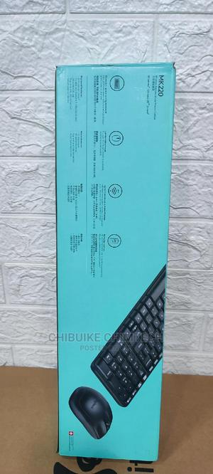 Logitech Wireless Keyboard and Mouse Mk220 | Computer Accessories  for sale in Lagos State, Ikeja