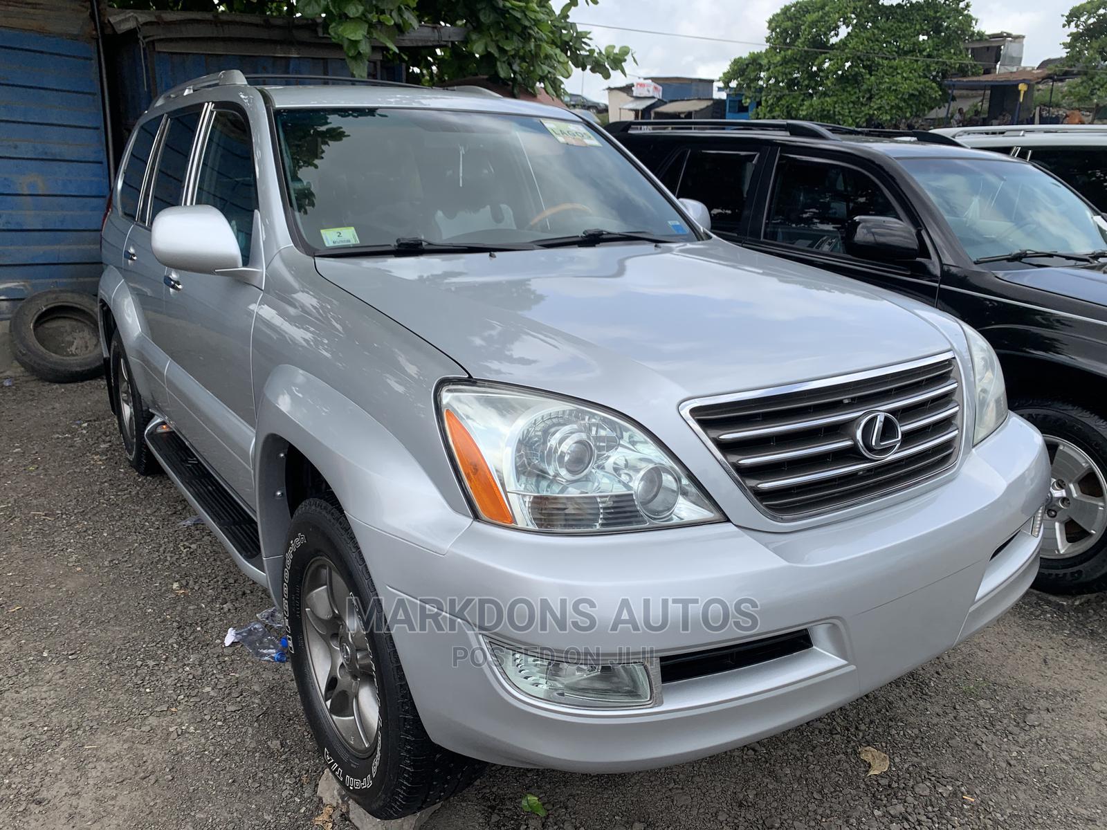 Lexus GX 2007 470 Silver | Cars for sale in Amuwo-Odofin, Lagos State, Nigeria