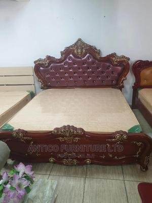 Quality Royal Bed With Mattress, Drawers and Dressing Table   Furniture for sale in Abuja (FCT) State, Wuse