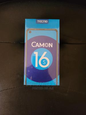 New Tecno Camon 16S 128 GB Black | Mobile Phones for sale in Lagos State, Ikeja