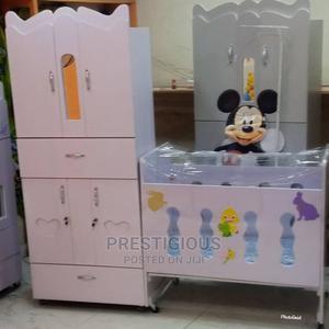 White Baby Wardrobe Bed   Children's Furniture for sale in Lagos State, Victoria Island