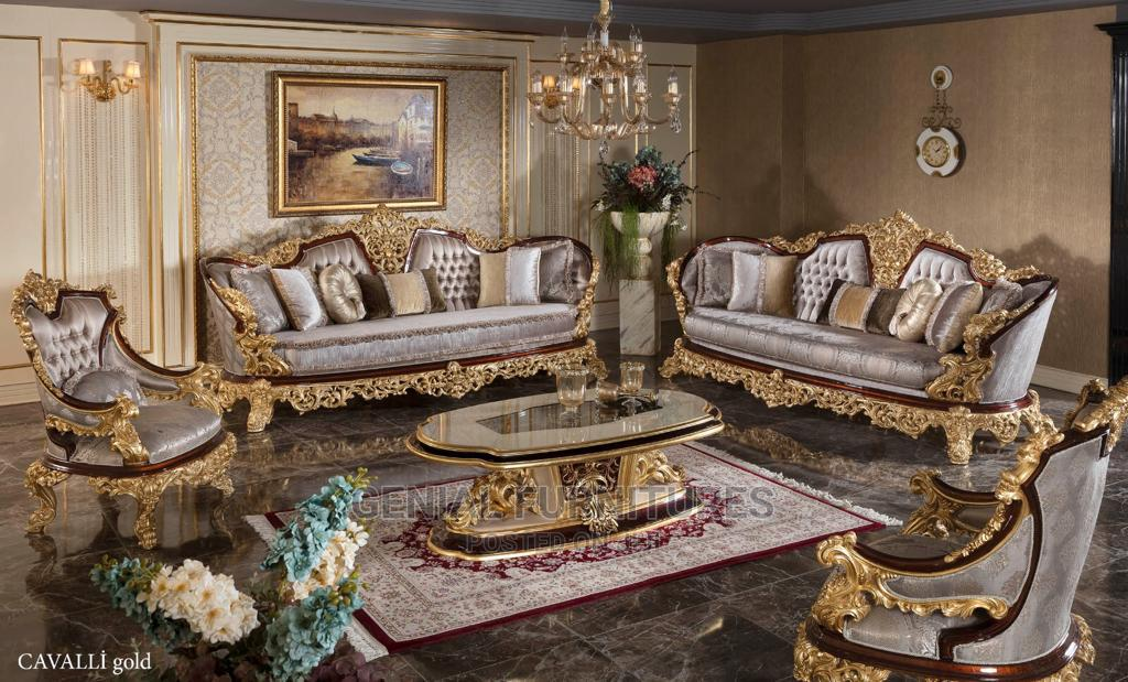 Sofa With Dining Set
