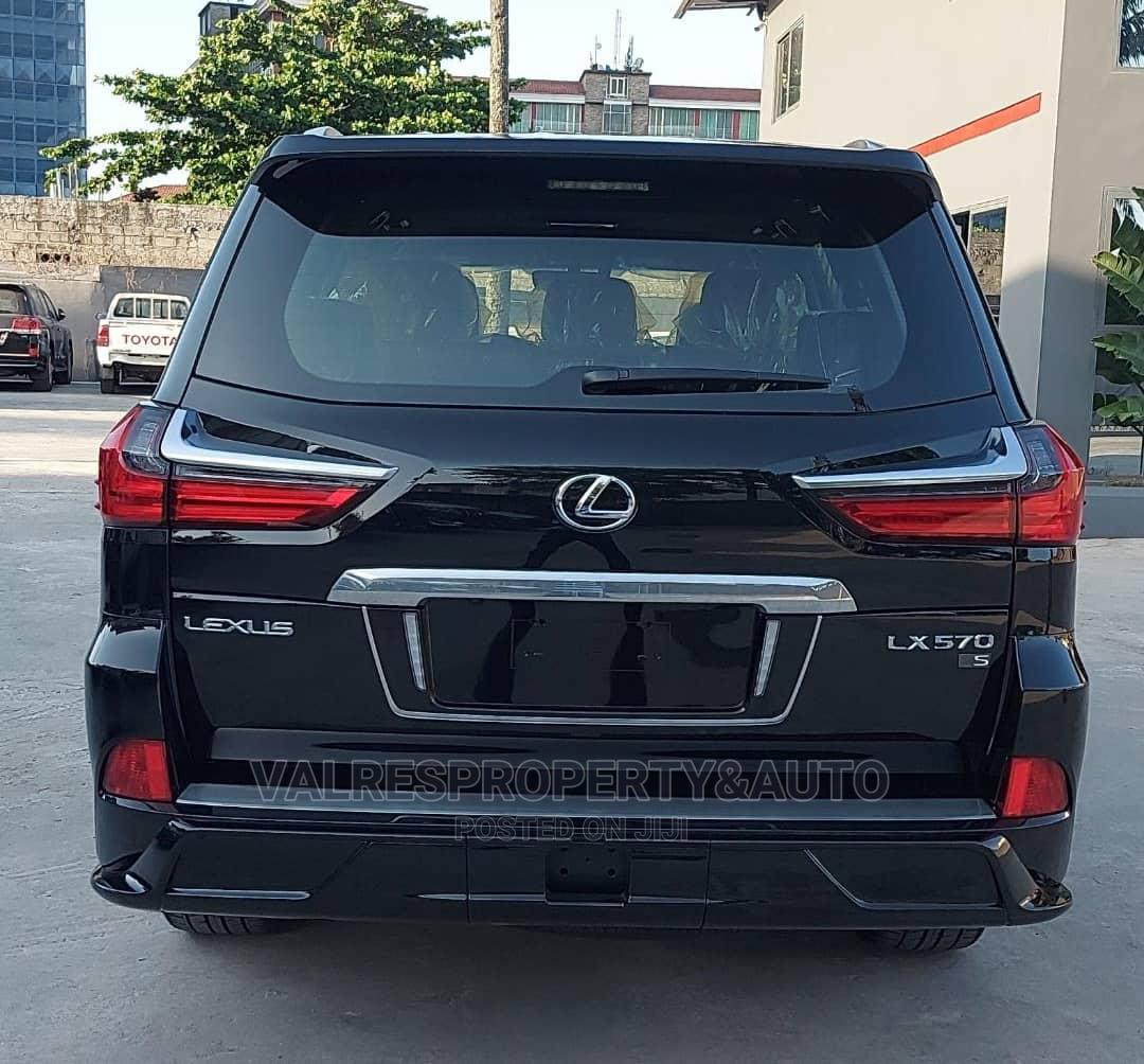 New Lexus LX 2020 570 Two-Row Black   Cars for sale in Victoria Island, Lagos State, Nigeria