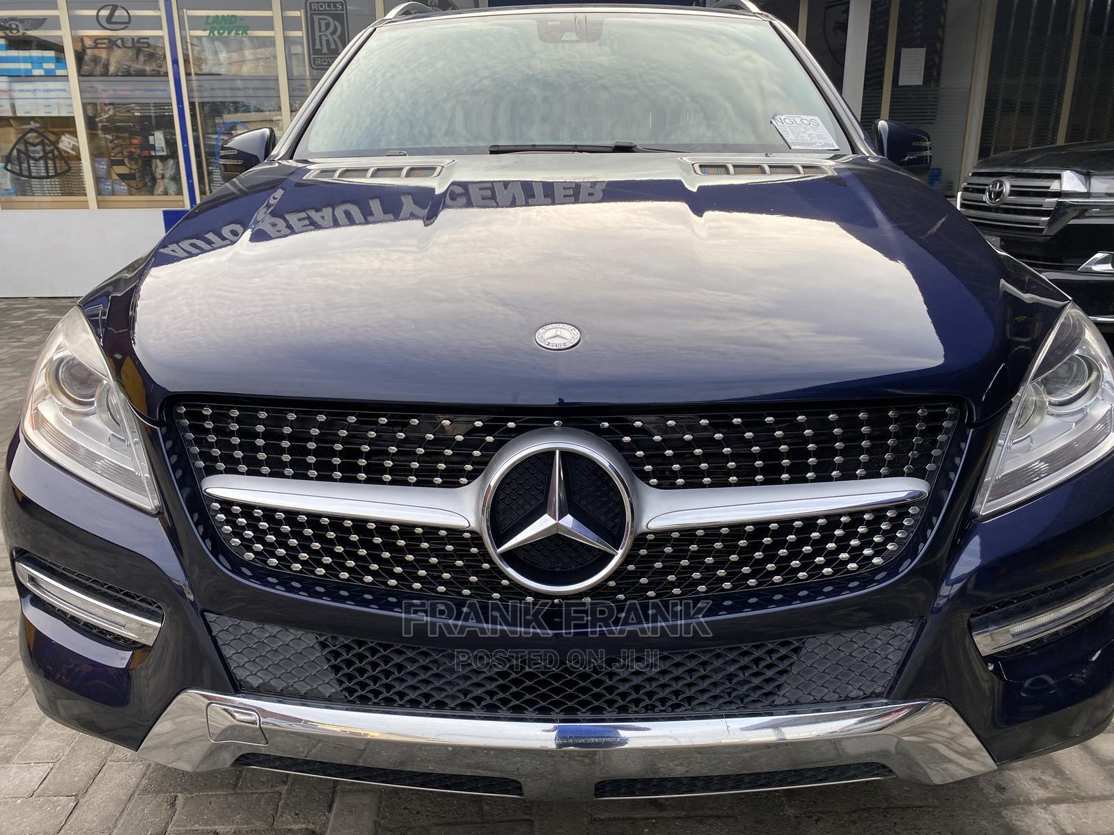 Mercedes-Benz M Class 2013 ML 350 4Matic Blue