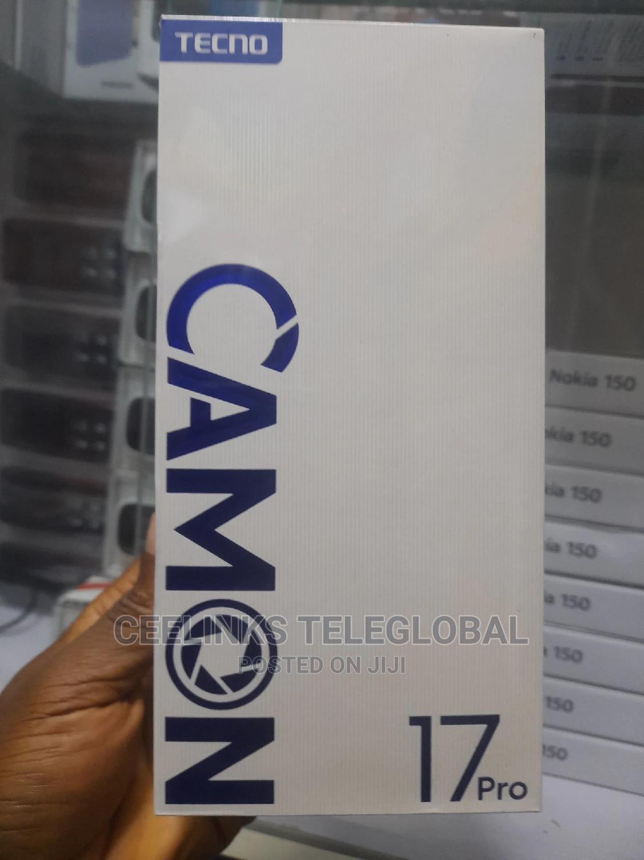 New Tecno Camon 17 Pro 256 GB Silver