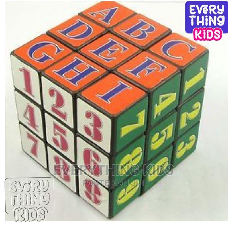 4pcs Kids Alphabet Rubik Cube