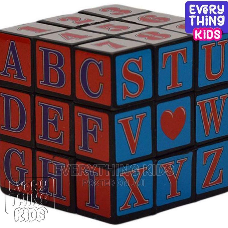 4pcs Kids Alphabet Rubik Cube | Toys for sale in Ojodu, Lagos State, Nigeria