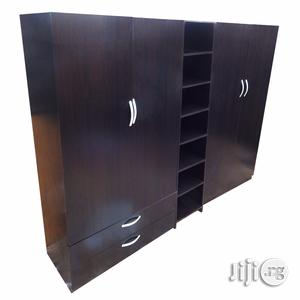 4 Door Wardrobe With Shoe Rack and Drawers   Furniture for sale in Lagos State