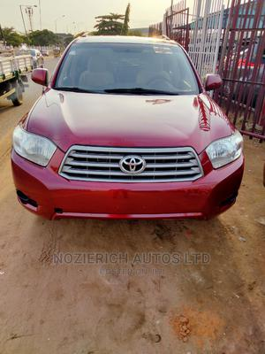 Toyota Highlander 2008 4x4 Red | Cars for sale in Lagos State, Isolo