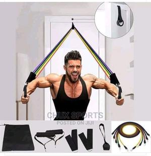 Quality Resistance Bands 5in1   Sports Equipment for sale in Lagos State, Ogba