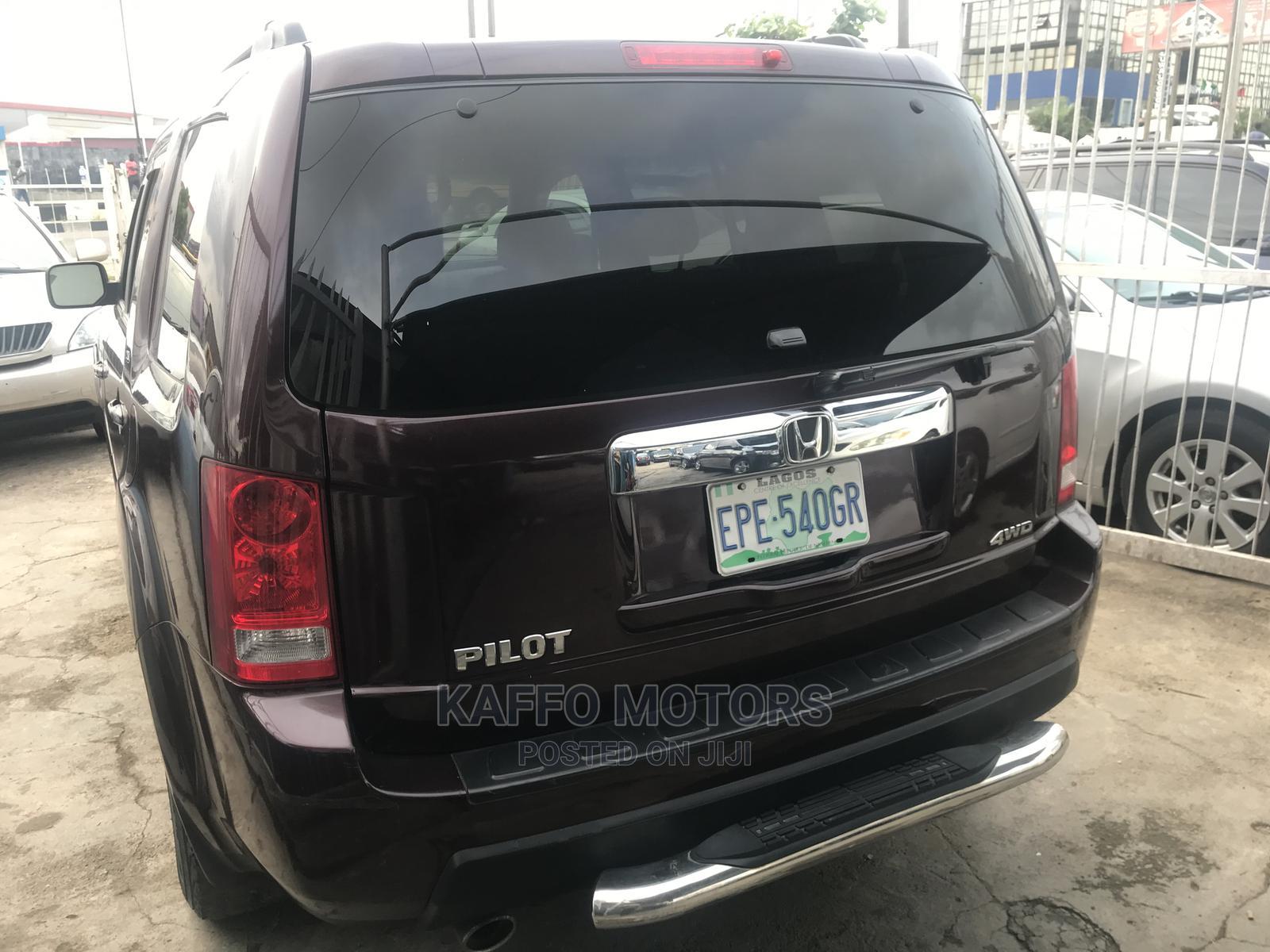 Honda Pilot 2010 Brown | Cars for sale in Ikeja, Lagos State, Nigeria