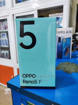 New Oppo Reno5 F 128 GB Black   Mobile Phones for sale in Lagos State, Ikeja