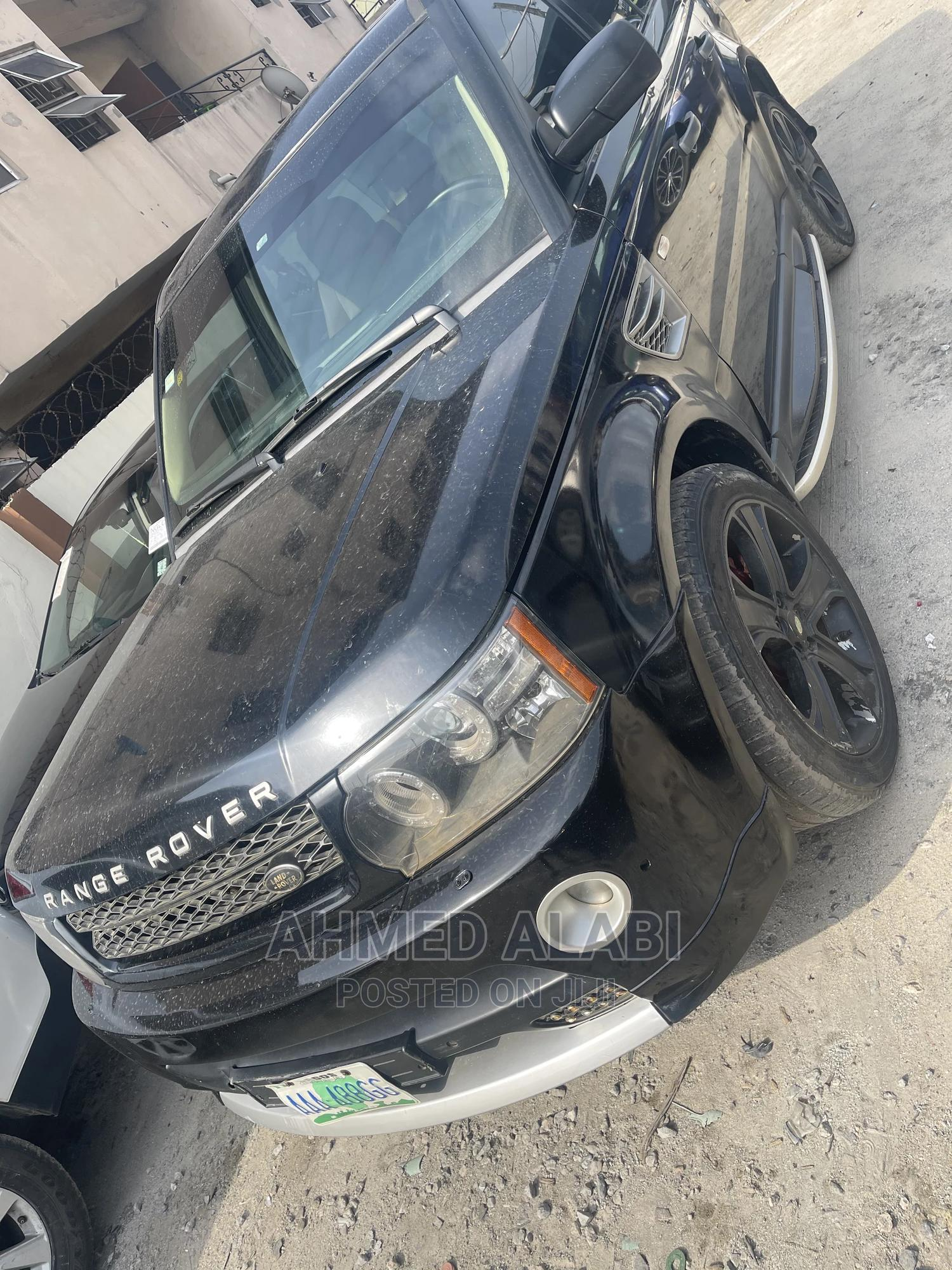 Land Rover Range Rover Sport 2009 Black   Cars for sale in Surulere, Lagos State, Nigeria