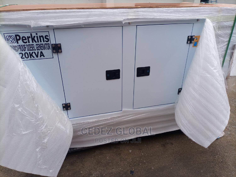 Perkins 20kva Sound Proof DIESEL Generator