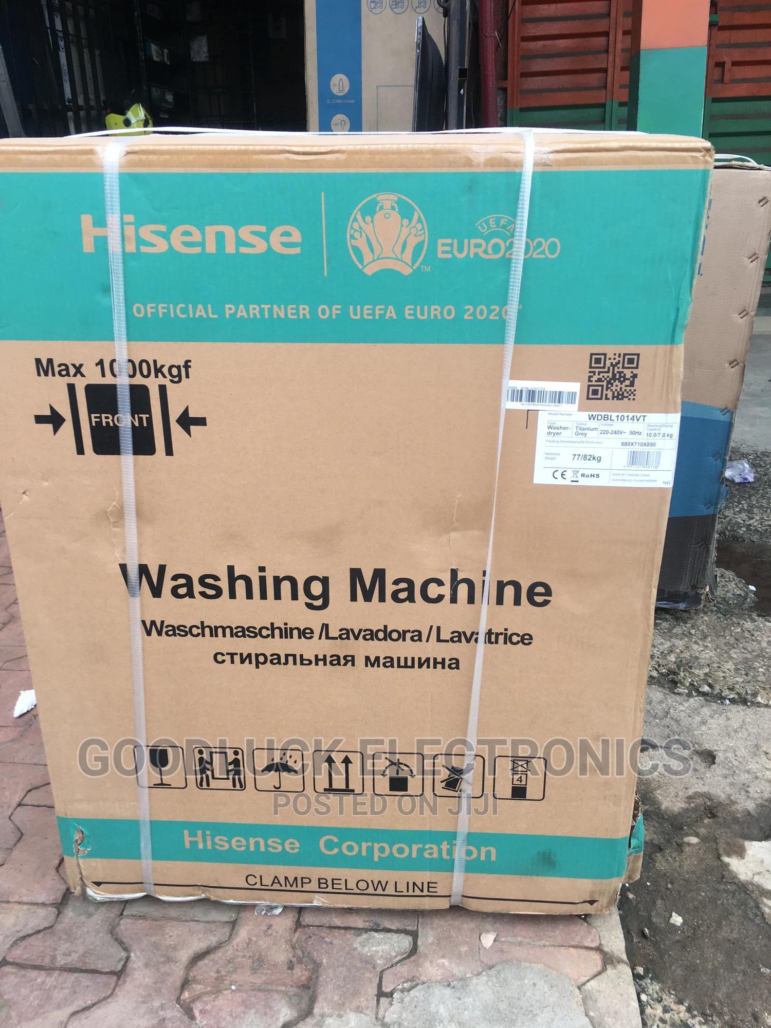 Hisense 10kg Wash 7kg DRYER Inverter Motor Smart Control