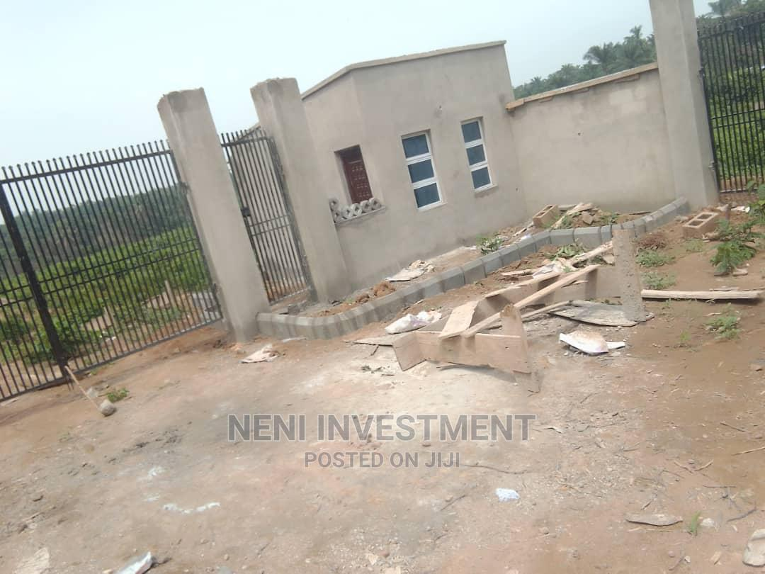 Two Plots of Land in a Developing Estate