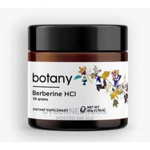 Botany Berberine Hcl Powder, 50g | Vitamins & Supplements for sale in Lagos State, Amuwo-Odofin