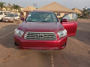 Toyota Highlander 2009 Sport Red | Cars for sale in Lagos State, Isolo
