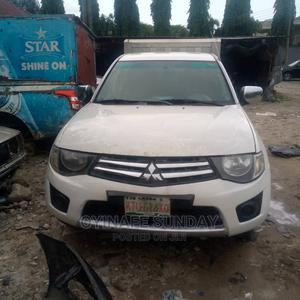 Mitsubishi L200 2015 White   Cars for sale in Rivers State, Port-Harcourt