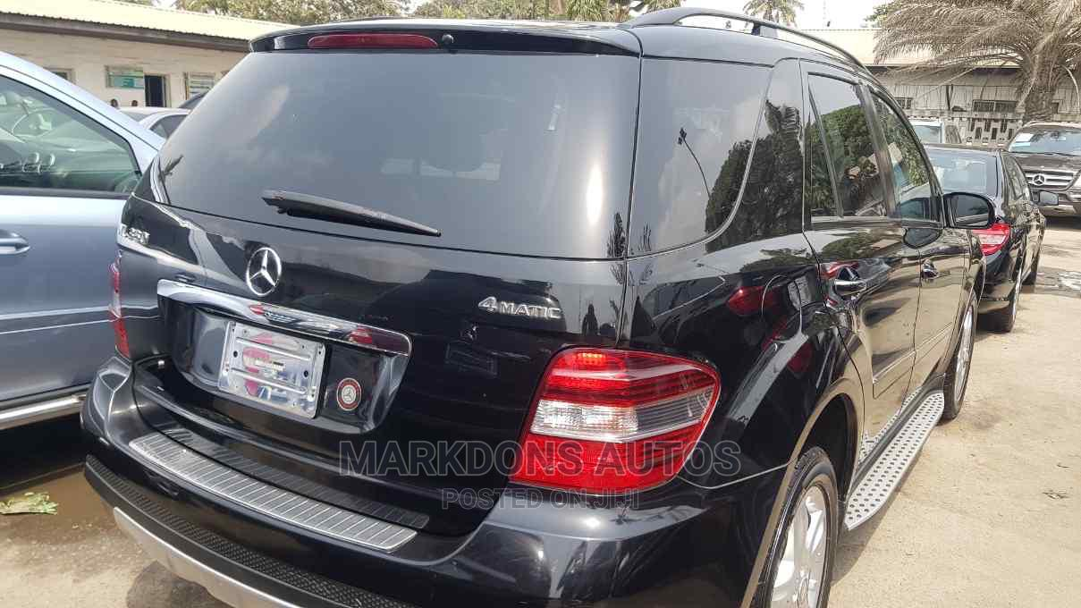 Mercedes-Benz M Class 2008 ML 350 4Matic Black | Cars for sale in Amuwo-Odofin, Lagos State, Nigeria