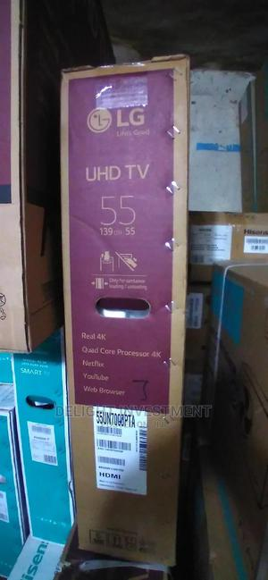 55 Inches LG Smart TV | TV & DVD Equipment for sale in Lagos State, Abule Egba