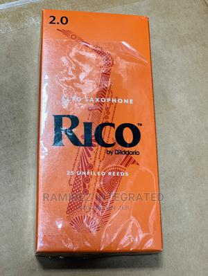 Rico Alto Sax Reed Strength 2.0- 25 Reeds   Musical Instruments & Gear for sale in Lagos State, Ojo