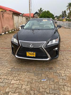 Lexus RX 2019 350 F Sport FWD Black   Cars for sale in Lagos State, Alimosho