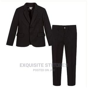 Boys 2 Piece Suit -Black   Children's Clothing for sale in Lagos State, Ojodu