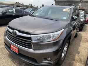 Toyota Highlander 2015 Brown | Cars for sale in Lagos State, Amuwo-Odofin
