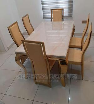 Gold Dining Table | Furniture for sale in Lagos State, Victoria Island