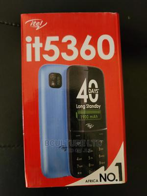 New Itel it5360 64 MB Black | Mobile Phones for sale in Lagos State, Ikeja