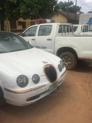 Jaguar S-Type 2003 3.0L V6 White | Cars for sale in Lagos State, Agege
