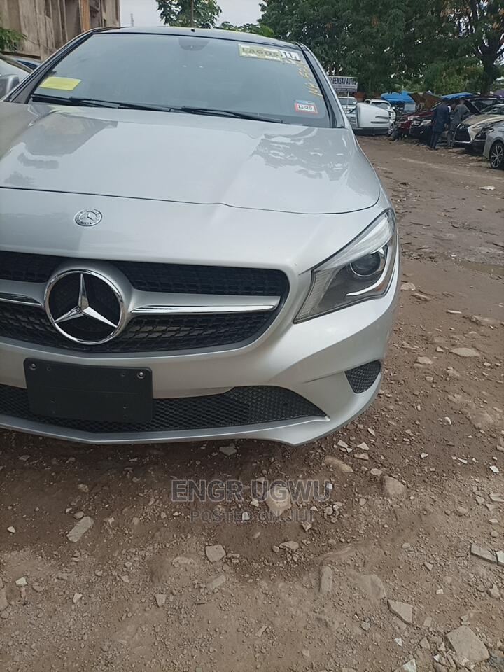 Mercedes-Benz CLA-Class 2014 Silver