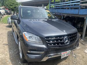 Mercedes-Benz M Class 2013 ML 350 4Matic Gray | Cars for sale in Lagos State, Amuwo-Odofin