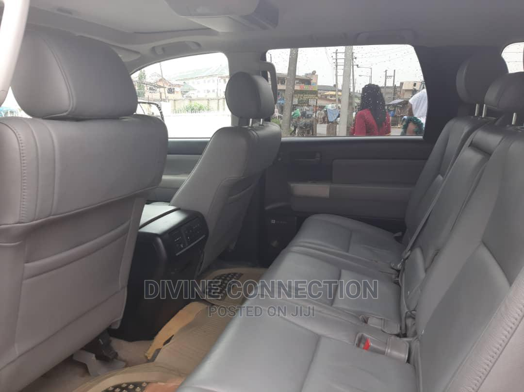 Toyota Sequoia 2008 Gray | Cars for sale in Apapa, Lagos State, Nigeria